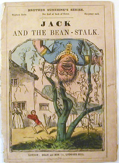 Jack and the Bean-Stalk. Brother Sunshine's Series.