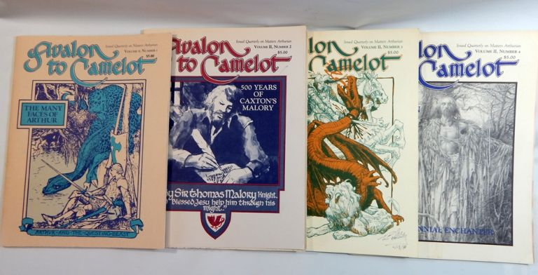 Avalon to Camelot, Volume II, Complete. Freya Reeves Lambides, publ, Tim Solliday.