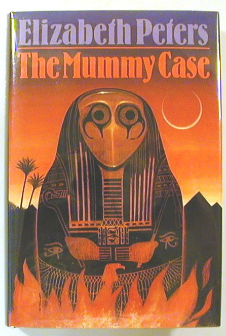 The Mummy Case (Signed). Elizabeth Peters.