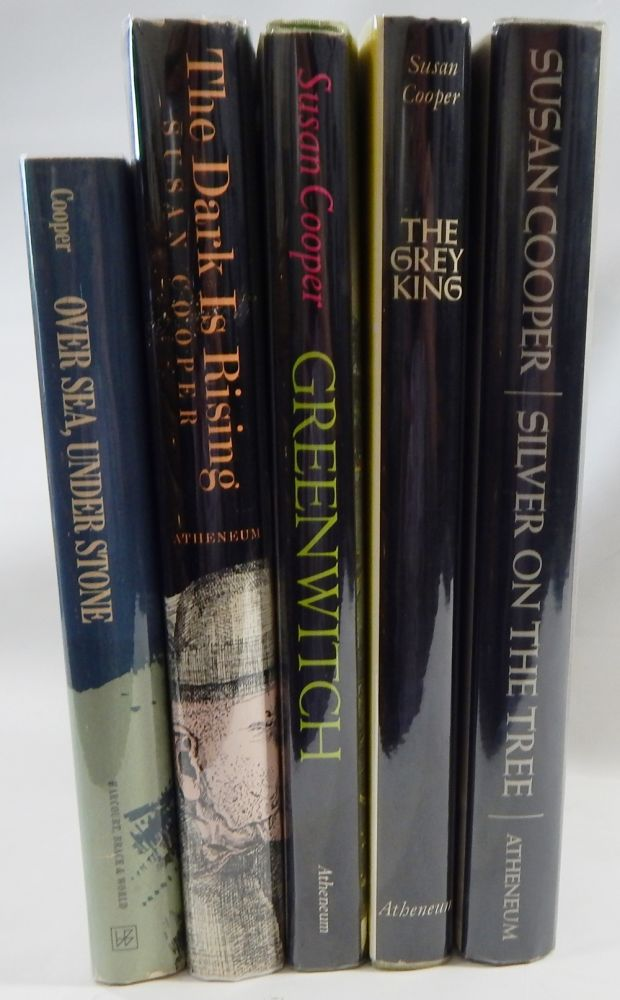 The Dark is Rising Series: Over Sea, Under Stone; The Dark is Rising; Greenwitch; The Grey King; Silver on the Tree. Susan Cooper.