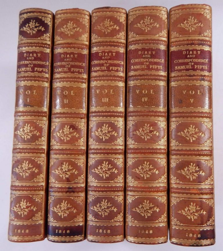 Diary and Correspondence of Samuel Pepys, F.R.S. ... With a Life and Notes by Richard Lord Braybrooke. Smuel Pepys.