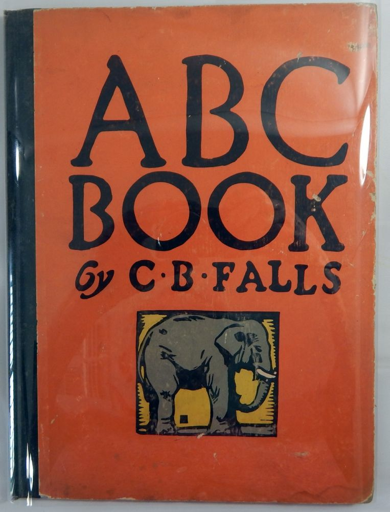 ABC Book Designed and Cut on Wood. C. B. Falls.