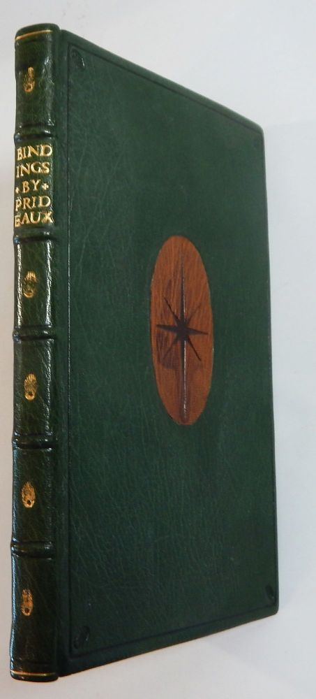 A Catalogue of Books Bound by S. T. Prideaux Between MDCCCXC and MDCCCC With Twenty-Six Illustrations. S. T. Prideaux.