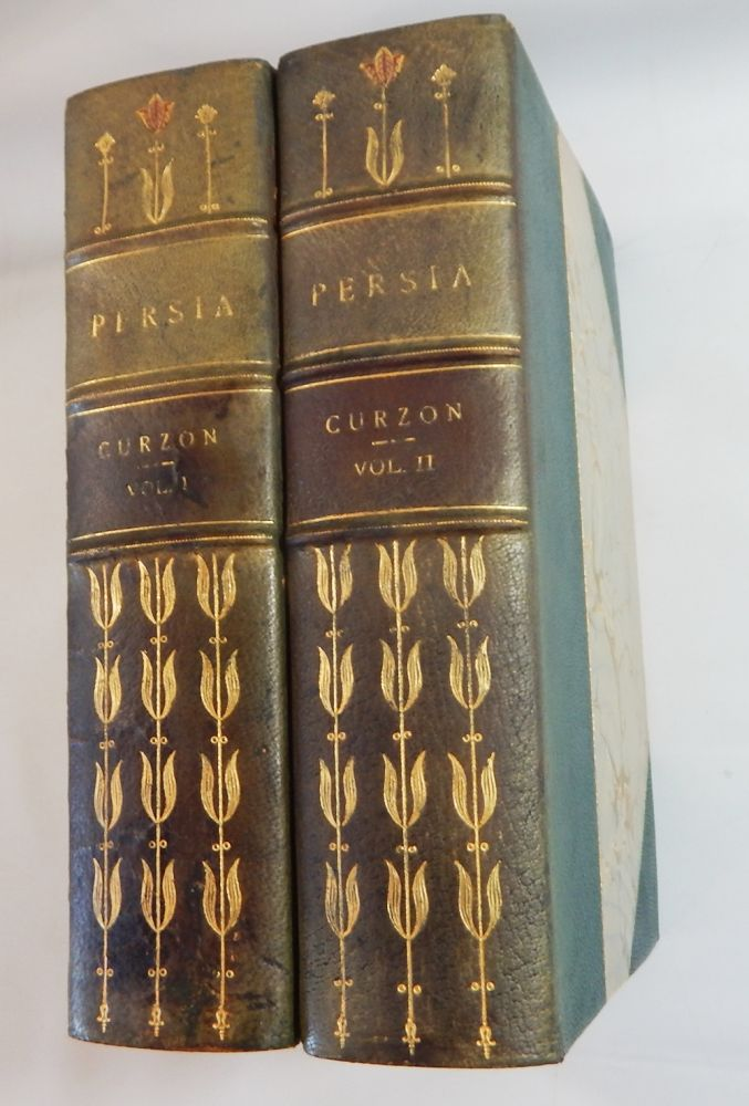Persia and the Persian Question. George N. Curzon.