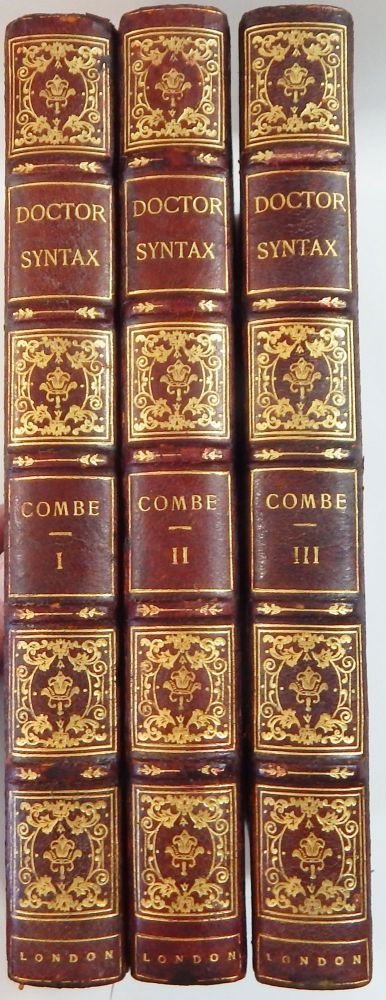 The Three Tours of Doctor Syntax, In Search of the Picturesque. William Combe.