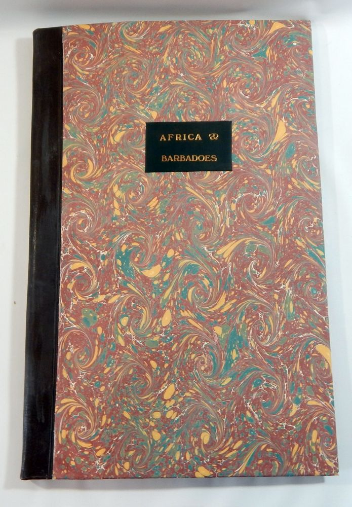 A Journal of a Voyage Made in the Hannibal of London, Ann. 1693, 1694, from England to Cape Monseradoe, in Africa; ... And So Forward to Barbadoes. Thomas Phillips.