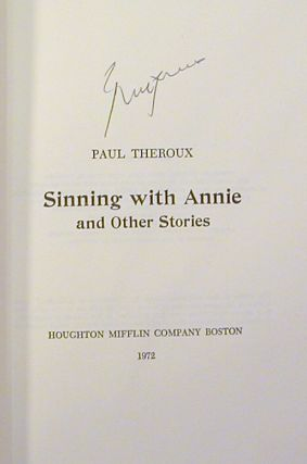 Sinning with Annie and Other Stories (Signed)