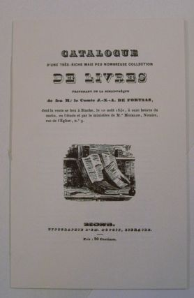The Fortsas Catalogue, A Facsimile, With an introduction