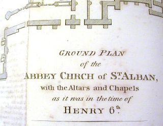 The History of the Ancient and Royal Foundation, Called The Abbey of St. Alban, in the County of Hereford, from the Founding Thereof, in 793, to its Dissolution , in 1539.; Exhibiting the Life of Each Abbot, and the Principal Events Relating to the Monastery, During its Rule and Government.