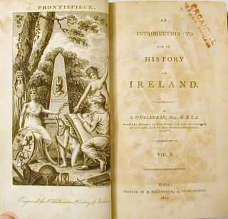 An Introduction to and an History of Ireland