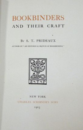 Bookbinders and Their Craft