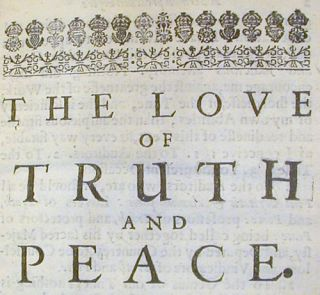 The Love of Truth and Peace. A Sermon Preached Before the Honourable House of Commons Assembled in Parliament.; November. 29. 1640.