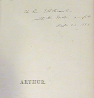 Arthur: A Short Sketch of his Life and History in English Verse of the First Half of the Fifteenth Century (Signed)