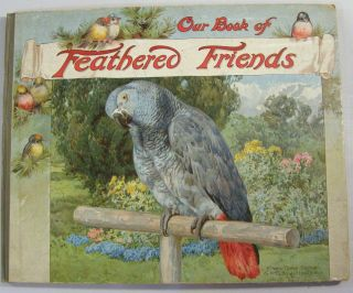 Our Book of Feathered Friends. Nister, M. A. Hoyer, Liliam Gask, L. L. Weedon, Clifton Bingham