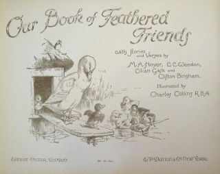 Our Book of Feathered Friends