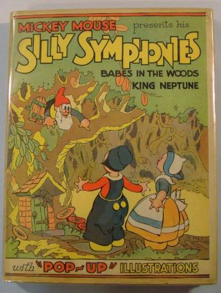 The 'Pop-up' Silly Symphonies. Walt Disney