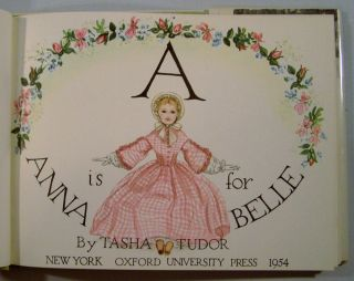 A is for Annabelle (Signed)