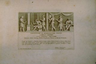 Three Works of Engravings after Raphael: Parerga, Atque Ornamenta...; Picturae Omniumq(ue)...