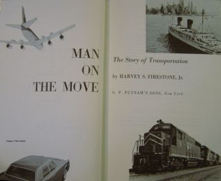Man on the Move: The Story of Transportation (Signed)