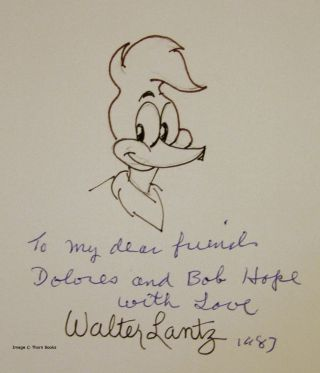 The Walter Lantz Story with Woody Woodpecker and Friends (Signed)