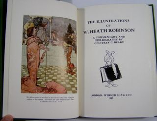 The Illustrations of W. Heath Robinson (Signed)