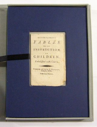 Entertaining Fables for the Instruction of Children. Chap Book