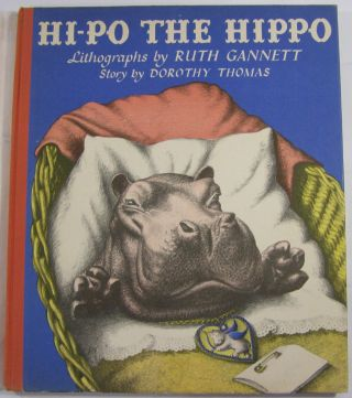 Hi-Po the Hippo: Lithographs by Ruth Gannett