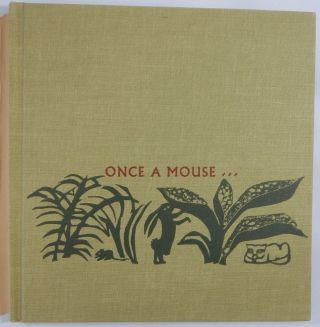 From Ancient India, Once A Mouse ... A Fable Cut in Wood