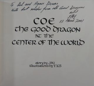 Coe the Good Dragon at the Center of the World