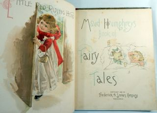 Maud Humphrey's Book of Fairy Tales