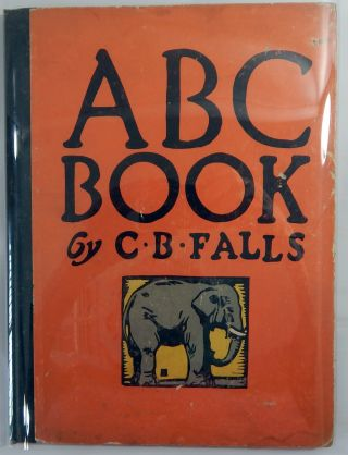 ABC Book Designed and Cut on Wood. C. B. Falls