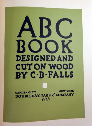 ABC Book Designed and Cut on Wood