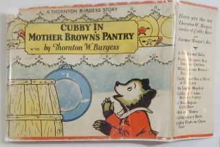 Cubby in Mother Brown's Pantry; Jumper the Hare Cannot Sleep