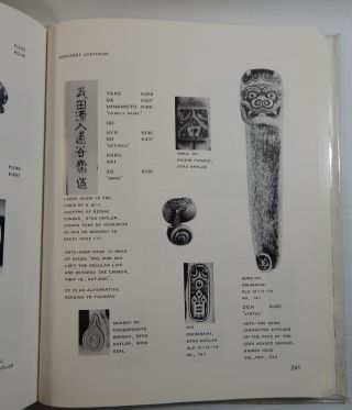 The Signature Book of Netsuke, Infro and Ojime Artists in Photographs