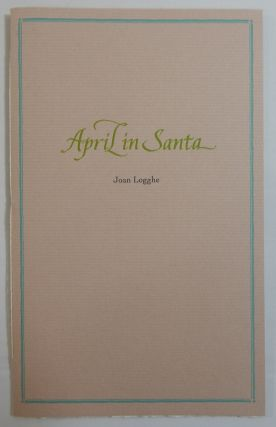 April in Santa. Joan Logghe