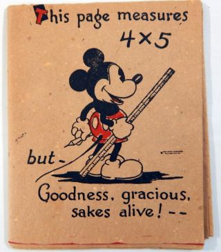 Mickey Mouse Birthday Sheet. Walt Disney