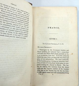 Gleanings in Europe [France], By An American
