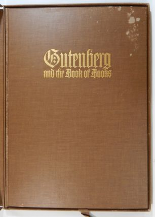 Gutenberg and the Book of Books. Henry Lewis Johnston.