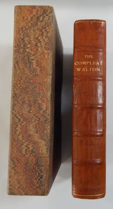 The Compleat Angler; The Lives of Donne; Wooton Hooker Herbert & Sanderson. Izaak Walton.