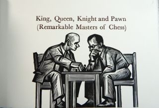 King, Queen, Knight and Pawn
