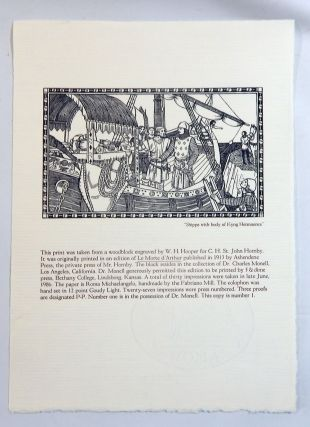 Five Hundred Years of King Arthur (Broadside). Charles Monell