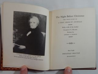 """The Night Before Christmas: The True Story of """"A Visit From St. Nicholas"""", with a Life of the Author"""