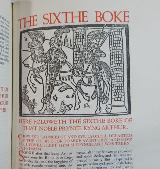 The Noble & Joyous Boke Entytled le Morte Darthur...