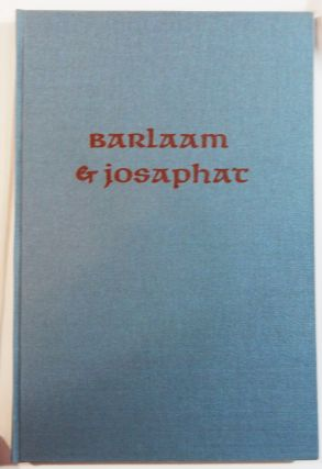 Barlaam and Josephat. Allen Press, William Caxton, transl