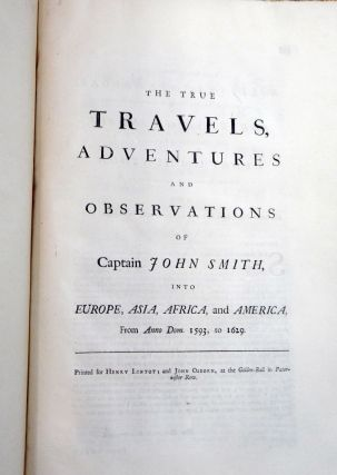 The True Travels, Adventures and Observations ... Into Europe, Asia, Africa, and America, from Ann. Dom. 1593 to 1629