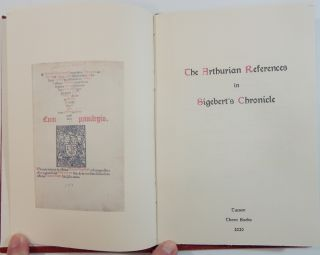The Arthurian References in Sigebert's Chronicle