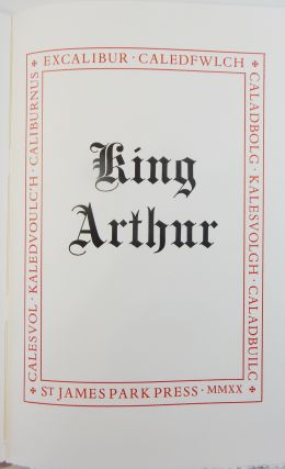 King Arthur: Excalibur. St. James Park Press