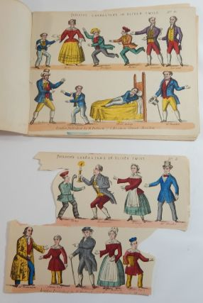 Small Collection of Sheets from Oliver Twist, Battle of Waterloo, Sleeping Beauty, Children in the Wood, and Side Wings