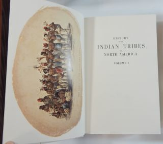 History of the Indian Tribes of North America....