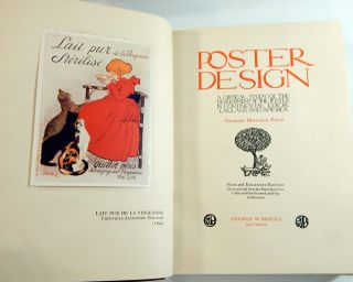 Poster Design: A Critical Study of the Development of the Poster in Continental Europe, England and America